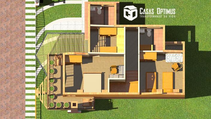 Interior segundo nivel Casa Prime